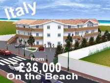 Click here to view our properties in Italy including low cost apartments on the beach