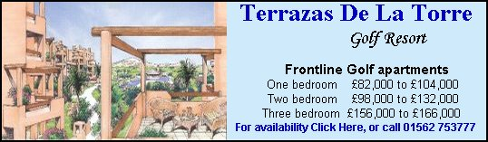 click here for more information about Terrazas de la Torre Golf Resort