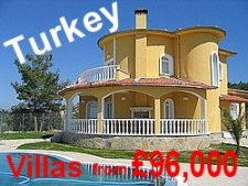 Click here to go to our Turkey web pages where you can view luxury villas at very low prices